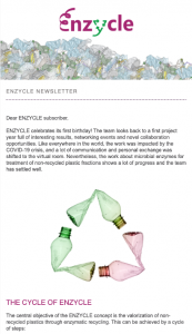Preview to ENZYCLE news No 2